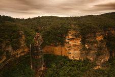 Free Beautiful Misty Waterfall Royalty Free Stock Photo - 8077335