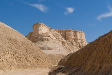 The Perazim Canyon. Stock Image