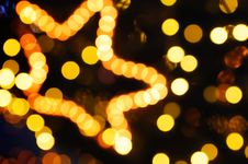 Free Holiday Lights Stock Photography - 8078302
