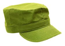 Military-style Cap Stock Image