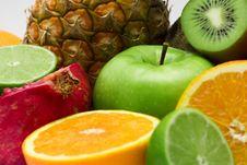 Free Group Of Fresh Fruits Stock Photo - 8078940