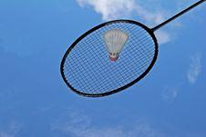 Free Badminton Racket Stock Photography - 8078982