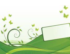 Free Green Waves Royalty Free Stock Photos - 8079258