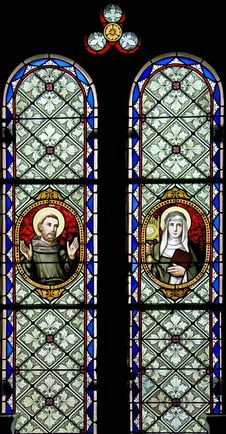 Free Stained-glass Window 103 Royalty Free Stock Photos - 8079428