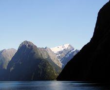 Free Lake With Mountains Stock Image - 8079631