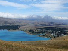 Free Lake With Mountains Royalty Free Stock Image - 8079646