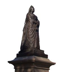 Statue Of Queen Victoria Royalty Free Stock Photo