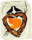 Free Valentine S Grunge Background Royalty Free Stock Photo - 8080815