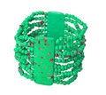 Free Green Bracelet Royalty Free Stock Image - 8084506