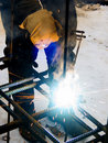 Free Process Of Welding Of Metal Stock Images - 8085914