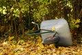 Free Forgotten Wheelbarr Stock Photography - 8087872