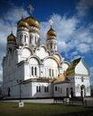 Free Spaso-preobrazhenskiy Cathedral. Tolyatti Royalty Free Stock Photography - 8087927