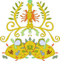 Free Floral Crest Royalty Free Stock Images - 8089479