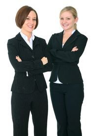 Two Successful Businesswoman Royalty Free Stock Images