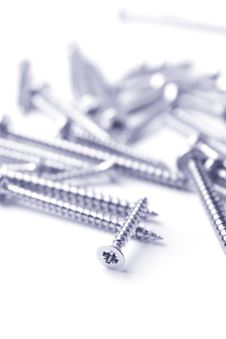 Free Metal Screws Royalty Free Stock Photo - 8080565