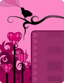 Free Valentine S Grunge Background Royalty Free Stock Images - 8081319