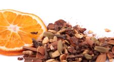 Free Assorted Spices And Orange Stock Photography - 8081772