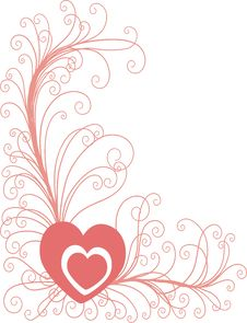 Free Heart Background Royalty Free Stock Photos - 8082068
