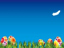 Free Easter Meadow Royalty Free Stock Photo - 8082125