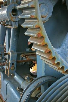 Gears Of The Machine Royalty Free Stock Photography