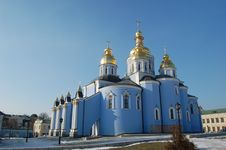 Free Saint Michael S  Cathedral In Kiev Stock Photos - 8082343
