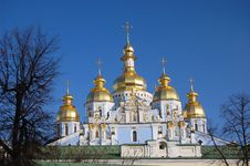 Free Saint Michael S  Cathedral In Kiev Royalty Free Stock Image - 8082596