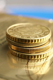 Free Euro Coins Stock Images - 8082624