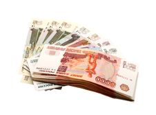 Free Russian Rubles Stock Photo - 8082950