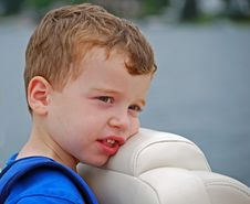 Free Sleepy On The Boat Royalty Free Stock Image - 8083106
