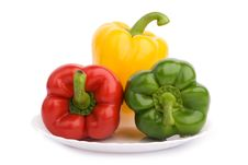 Free Peppers Stock Image - 8083211