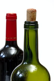 Free Two Bottle And Cork Stock Photo - 8083490