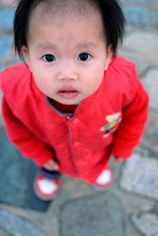 Free Cute Asian Baby Girl Stock Photos - 8083553
