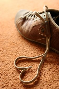 Free Shoelace Love Stock Photography - 8084072