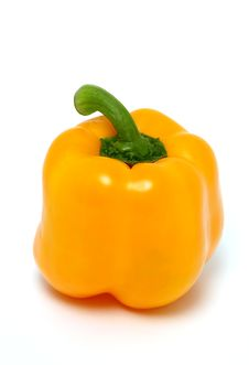 Free Yellow Pepper Royalty Free Stock Images - 8084139