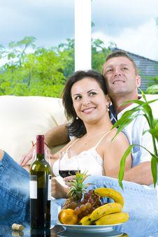 Free Happy Couple Stock Image - 8084481