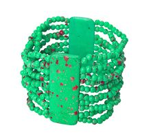 Free Green Bracelet Royalty Free Stock Image - 8084506