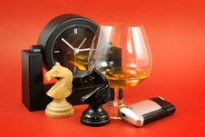 Free Glass Of Brandy Royalty Free Stock Image - 8084586
