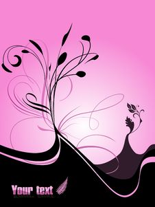 Free Spring Floral Background Royalty Free Stock Photos - 8084688