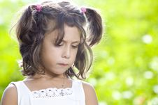 Free Summer Portrait Royalty Free Stock Image - 8084806