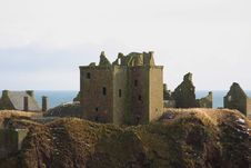 Free Dunnottar Castle, Scotland Stock Image - 8084991
