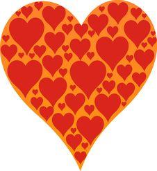 Big Heart Royalty Free Stock Photo