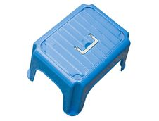 Free Blue Small Stool Stock Image - 8087441