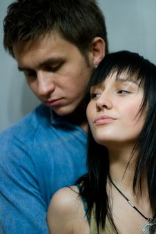 Free Couple In Love Stock Image - 8087481