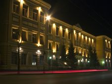 Samara. Central Bank Royalty Free Stock Photos
