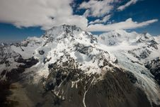 Free Mountains And Glacier New Zealand Stock Photography - 8088052