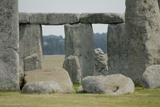 Stonehenge Up Close Stock Photos
