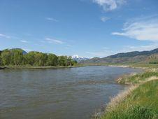 Yellowstone River Stock Image