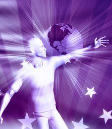 Free Reaching Success Stars Royalty Free Stock Image - 8089306