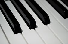 Free Piano Keys Stock Photos - 8089353