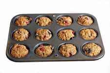 Free Fresh Baked Muffins Stock Image - 8089741